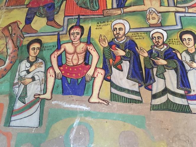 Monastery painting