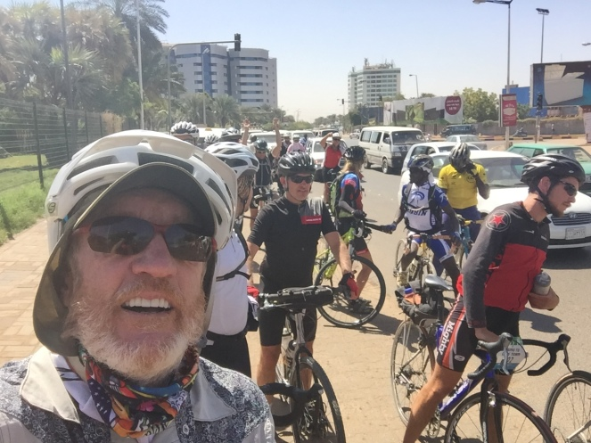 Khartoum caravan halted for flat