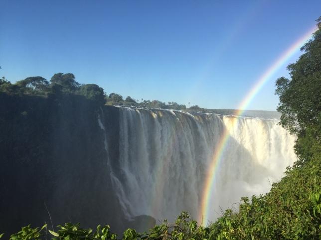 Vic Falls, Zimbabwe side.