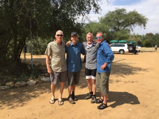 Sharing the pain with Kevin Johansen, Troy Gillenwater & Gil Gillenwater